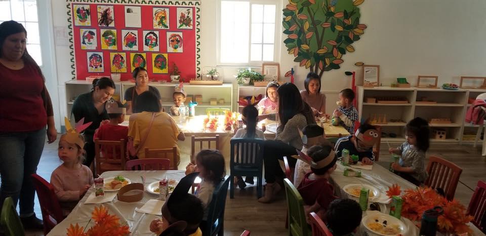 Wonderland Montessori of Anaheim Montessori Mothers Day Lunch