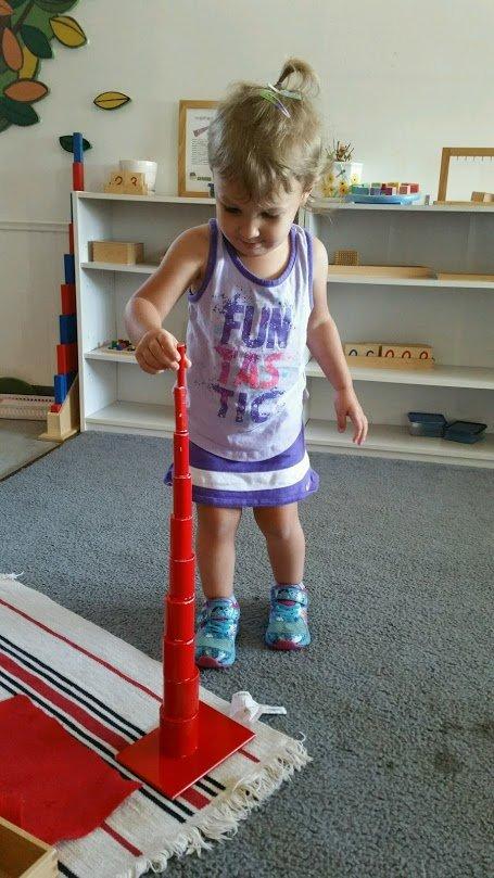 Wonderland Montessori of Anaheim Montessori Learning Spatial Awareness Reasoning