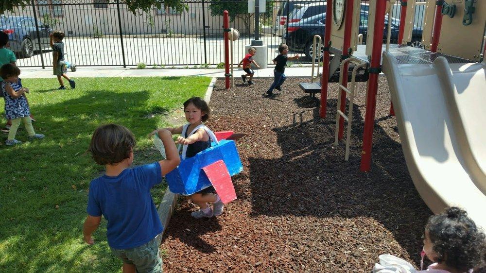Wonderland Montessori of Anaheim Montessori Summer Camp Airplane